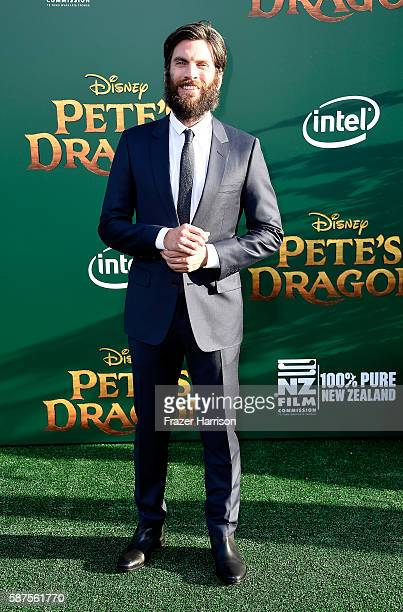 Actor Wes Bentley arrives at the Premiere Of Disney's 'Pete's Dragon' at the El Capitan Theatre on August 8 2016 in Hollywood California