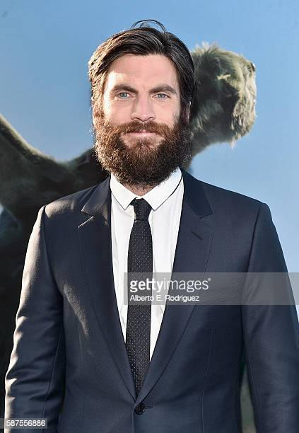 Actor Wes Bentley arrives at the world premiere of Disney's 'PETE'S DRAGON' at the El Capitan Theater in Hollywood on August 8 2016 The new film...
