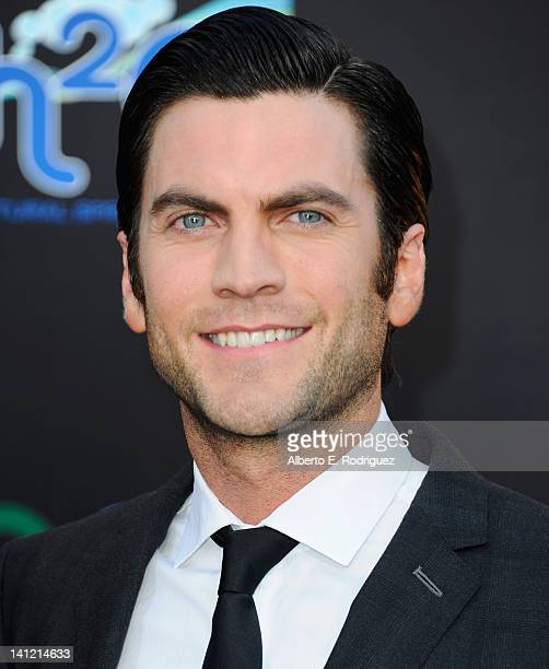 """Actor Wes Bentley arrives to the premiere of Lionsgate's """"The Hunger Games"""" at Nokia Theatre L.A. Live on March 12, 2012 in Los Angeles, California."""