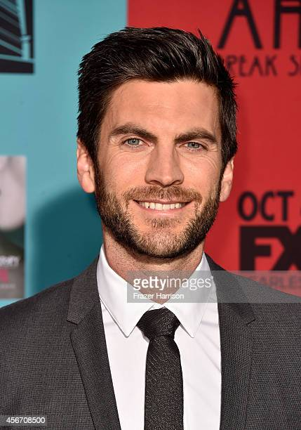 Actor Wes Bentley attends FX's American Horror Story Freak Show premiere screening at TCL Chinese Theatre on October 5 2014 in Hollywood California