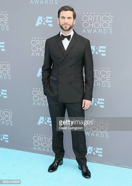 Actor Wes Bentley attends The 21st Annual Critics' Choice Awards at Barker Hangar on January 17 2016 in Santa Monica California