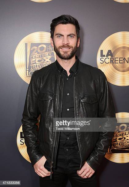 Actor Wes Bentley attends the FOX Los Angeles Screenings Party 2015 on the Fox Studio Lot on May 21 2015 in Los Angeles California