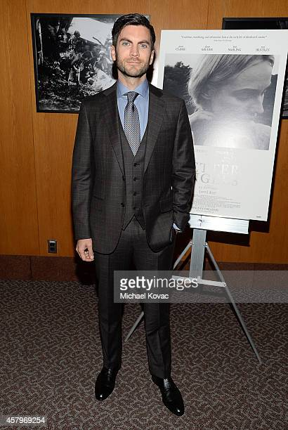 Actor Wes Bentley attends the Los Angeles Premiere of Amplify's 'THE BETTER ANGELS' at DGA Theater on October 27 2014 in Los Angeles California