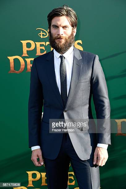 Actor Wes Bentley attends the premiere of Disney's 'Pete's Dragon' at the El Capitan Theatre on August 8 2016 in Hollywood California