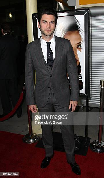 Actor Wes Bentley attends the Premiere of Summit Entertainment's Gone at the ArcLight Hollywood on February 21 2012 in Hollywood California