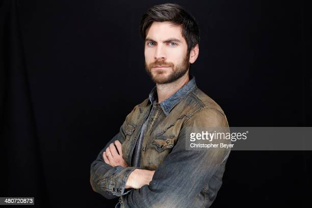 Actor Wes Bentley is photographed for Entertainment Weekly Magazine on January 25 2014 in Park City Utah