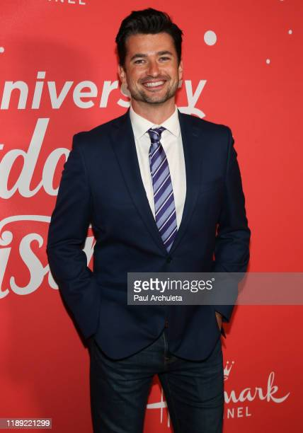 Actor Wes Brown attends Hallmark Channel's 10th Anniversary of Countdown To Christmas screening and party at 189 by Dominique Ansel on November 20...