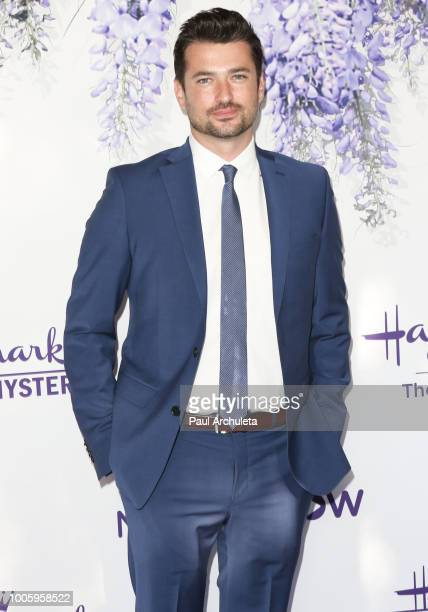 Actor Wes Brown attends the 2018 Hallmark Channel Summer TCA at Private Residence on July 26 2018 in Beverly Hills California