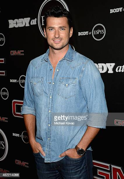 Actor Wes Brown attends the Body at ESPYS PreParty at Lure on July 15 2014 in Hollywood California