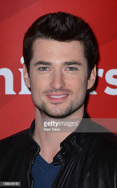 Actor Wes Brown poses at the 2013 TCA Winter Press Tour NBC Universal Day 1 at The Langham Huntington Hotel and Spa on January 6 2013 in Pasadena...