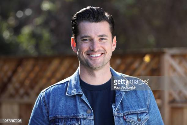 Actor Wes Brown visits Hallmark's Home Family at Universal Studios Hollywood on November 13 2018 in Universal City California