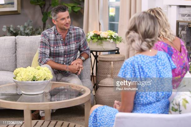 Actor Wes Brown visits Hallmark's Home Family at Universal Studios Hollywood on September 03 2019 in Universal City California