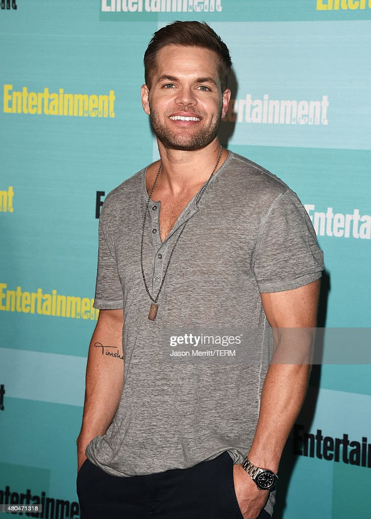Actor Wes Chatham attends Entertainment Weekly's Comic-Con 2015 Party sponsored by HBO, Honda, Bud Light Lime and Bud Light Ritas at FLOAT at The Hard Rock Hotel on July 11, 2015 in San Diego, California.