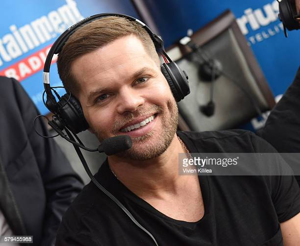 Actor Wes Chatham attends SiriusXM's Entertainment Weekly Radio Channel Broadcasts From ComicCon 2016 at Hard Rock Hotel San Diego on July 22 2016 in...