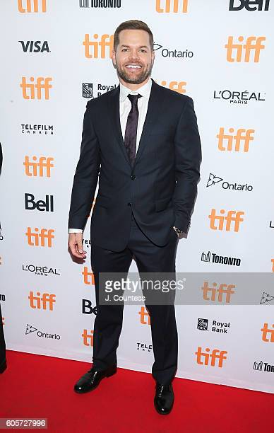 Actor Wes Chatham attends the 2016 Toronto International Film Festival Premiere of 'All I See Is You' at the Princess of Wales Theatre on September...