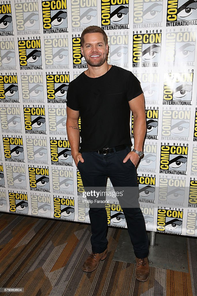 Actor Wes Chatham attends 'The Expanse' press line during Comic-Con International 2016 on July 23, 2016 in San Diego, California.