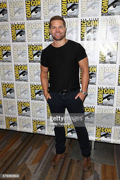 Actor Wes Chatham attends 'The Expanse' press line during ComicCon International 2016 on July 23 2016 in San Diego California