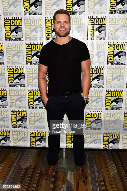 Actor Wes Chatham attends The Expanse press line during ComicCon International on July 23 2016 in San Diego California