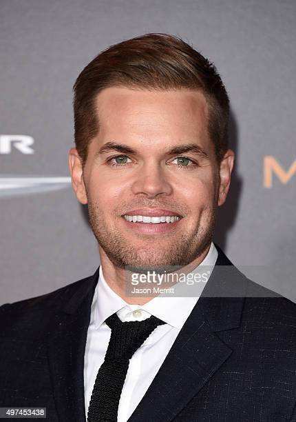 """Actor Wes Chatham attends the premiere of Lionsgate's """"The Hunger Games: Mockingjay - Part 2"""" at Microsoft Theater on November 16, 2015 in Los..."""