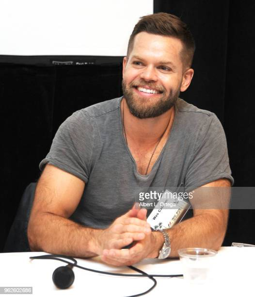 Actor Wes Chatham attends the Science Of The Expanse Panel held at Sheraton Gateway Hotel on May 25 2018 in Los Angeles California