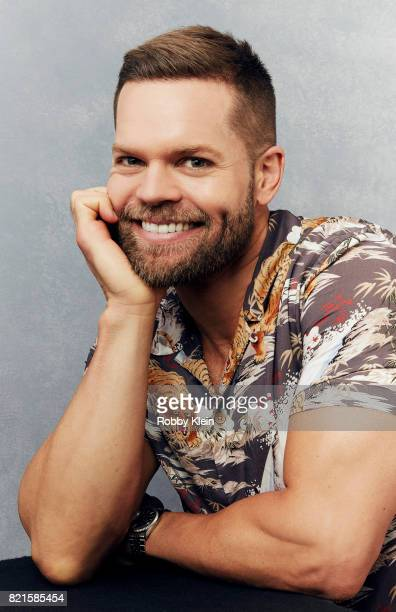 Actor Wes Chatham from Syfy's 'The Expanse' poses for a portrait during ComicCon 2017 at Hard Rock Hotel San Diego on July 22 2017 in San Diego...