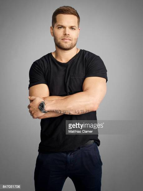Actor Wes Chatham from 'The Expanse' is photographed for Entertainment Weekly Magazine on July 23, 2016 at Comic Con in the Hard Rock Hotel in San...