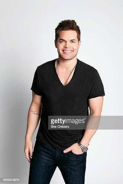 Actor Wes Chatham is photographered for Self Assignment on August 4 2014 in Los Angeles California