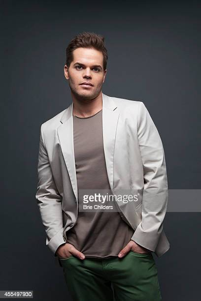 Actor Wes Chatham is photographers for Self Assignment on August 4 2014 in Los Angeles California