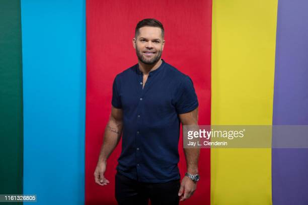 Actor Wes Chatham of 'The Expanse' is photographed for Los Angeles Times at ComicCon International on July 20 2019 in San Diego California PUBLISHED...