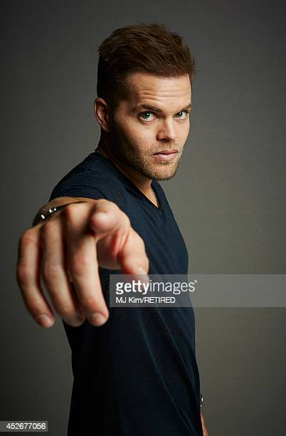 Actor Wes Chatham poses for a portrait at the Getty Images Portrait Studio powered by Samsung Galaxy at Comic-Con International 2014 at Hard Rock...