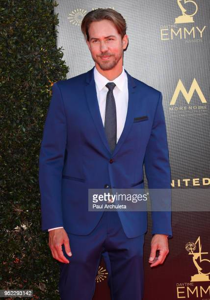 Actor Wes Raimsey attends the 45th Annual Daytime Creative Arts Emmy Awards at the Pasadena Civic Auditorium on April 27 2018 in Pasadena California