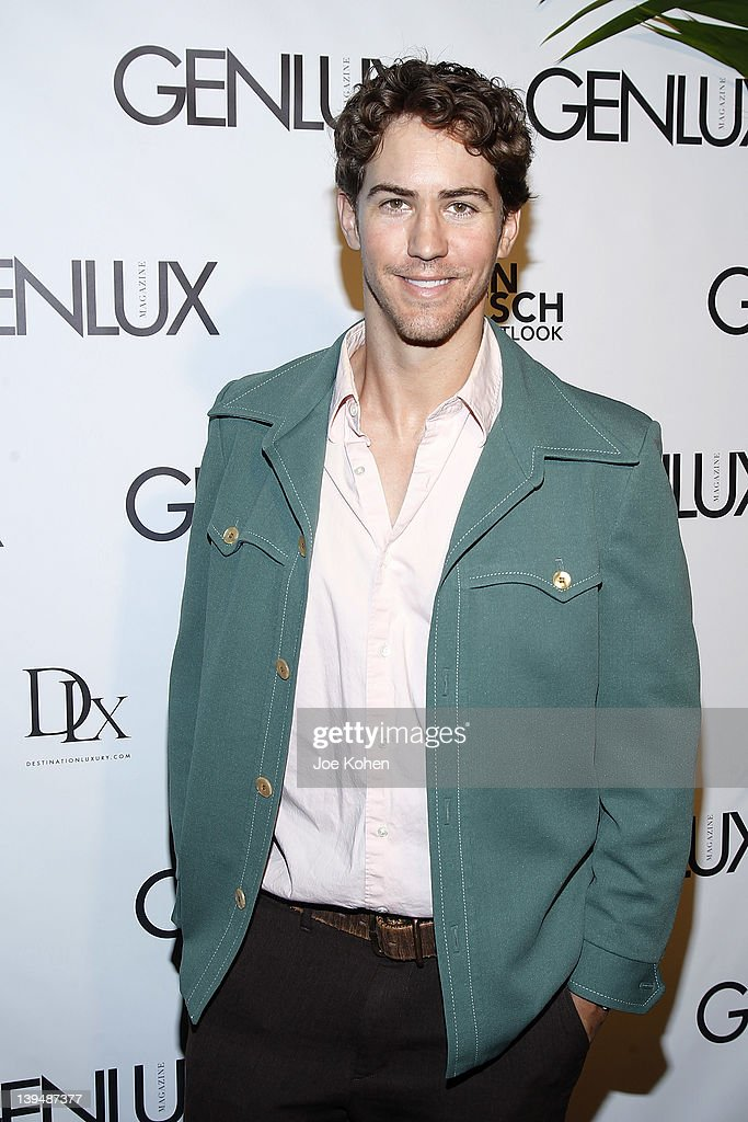 Actor Wes Ramsey attends the Night Of 'BB Forever: Brigitte Bardot, The Legend' at Sofitel Hotel on February 21, 2012 in Los Angeles, California.