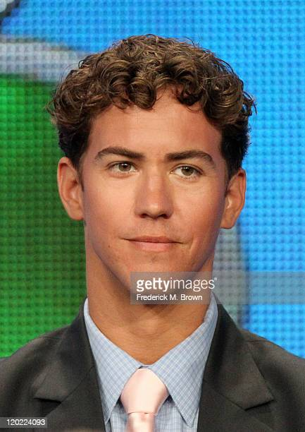 Actor Wes Ramsey speaks during 'The Playboy Club ' panel during the NBC Universal portion of the 2011 Summer TCA Tour held at the Beverly Hilton...