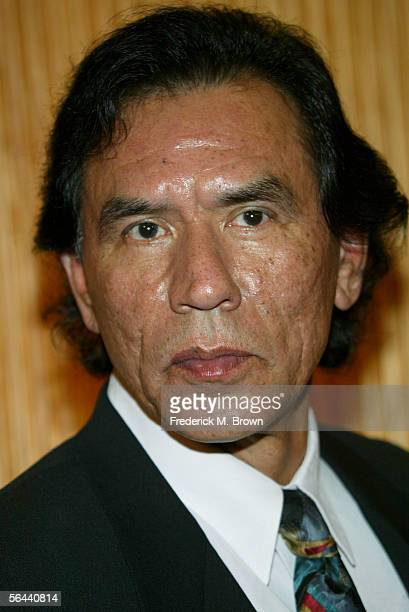 Actor Wes Studi arrives at the New Line Cinema premiere of The New World presented by AFI held at the Academy of Motion Picture Arts and Sciences on...