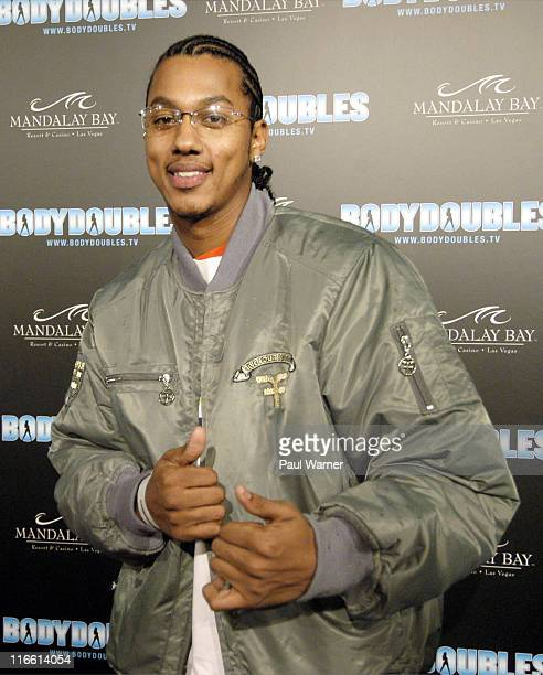 Actor Wesley Jonathan on the red carpet at the Body Doubles International Twin Search