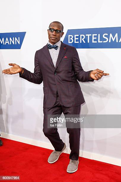 US actor Wesley Snipes attends the Bertelsmann Summer Party at Bertelsmann Repraesentanz on September 8 2016 in Berlin Germany