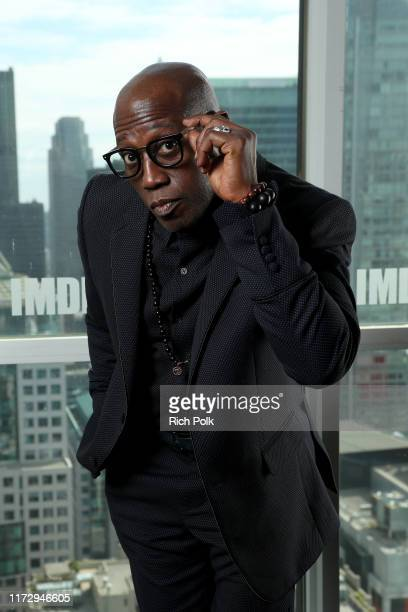 Actor Wesley Snipes of 'Dolemite Is my name' attends The IMDb Studio Presented By Intuit QuickBooks at Toronto 2019 at Bisha Hotel Residences on...