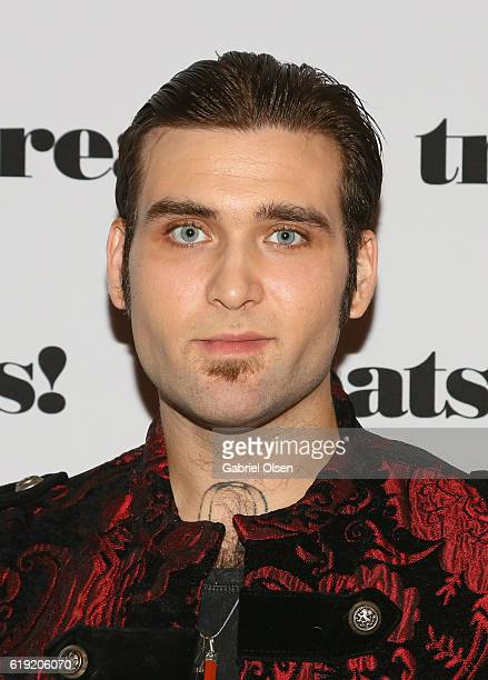 Actor Weston Cage attends Trick or treats The 6th Annual treats Magazine Halloween Party Sponsored by Absolut Elyx on October 29 2016 in Los Angeles...