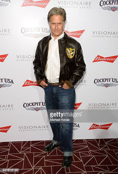 Actor Whip Hubley attends Cockpit USA Budweiser Private 30th Anniversary Screening Of 'Top Gun' at The London Hotel on May 16 2016 in West Hollywood...