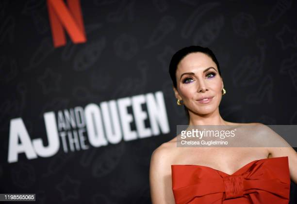 Actor Whitney Cummings attends the premiere of Netflix's AJ and the Queen Season 1 at the Egyptian Theatre on January 09 2020 in Hollywood California