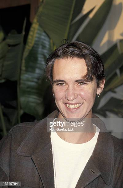Actor Wil Wheaton attending the screening of All Good Things Star TrekNext Generation on May 19 1994 at the Paramount Theater in Los Angeles...