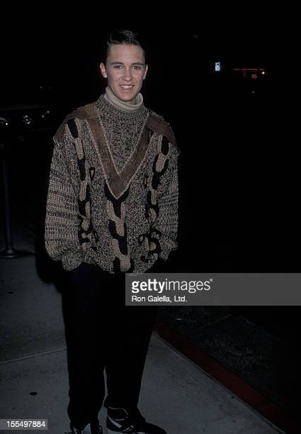 Actor Wil Wheaton attending Virgin Records Party on February 23, 1990 at Pazzia Restaurant in Los Angeles, California.
