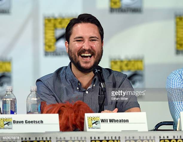 Actor Wil Wheaton attends CBS' The Big Bang Theory panel at the San Diego Convention Center on July 25 2014 in San Diego California