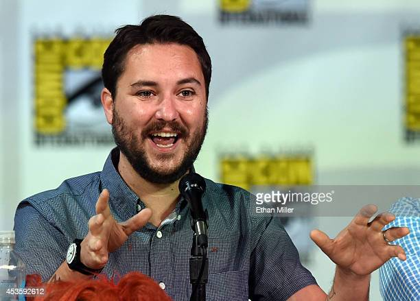 Actor Wil Wheaton attends CBS' The Big Bang Theory panel during ComicCon International 2014 at the San Diego Convention Center on July 25 2014 in San...