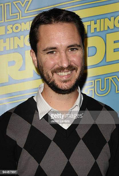 Actor Wil Wheaton attends the Family Guy Something Something Something Dark Side DVD release party on December 12 2009 in Beverly Hills California