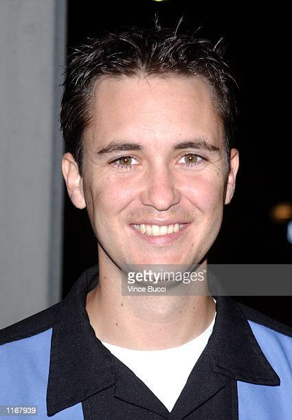 Actor Wil Wheaton attends the premiere of the independent film Jane White Is Sick and Twisted October 16 2001 in Los Angeles CA
