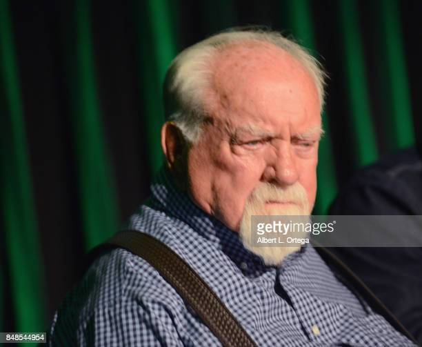 Actor Wilford Brimley attends Day 2 of the 2017 Son Of Monsterpalooza Convention held at Marriott Burbank Airport Hotel on September 16 2017 in...