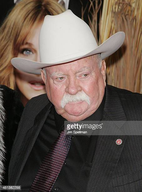 Actor Wilford Brimley attends the Did You Hear About the Morgans New York premiere at Ziegfeld Theatre on December 14 2009 in New York City