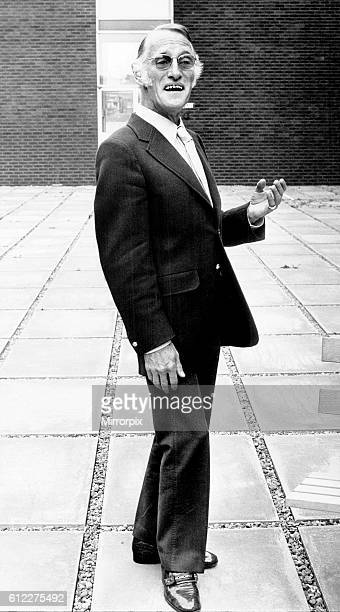 Actor Wilfred Brambell / Wilfred Bramble August 1970 Star of Steptoe and Son ©Mirrorpix 2002 ©Mirrorpix
