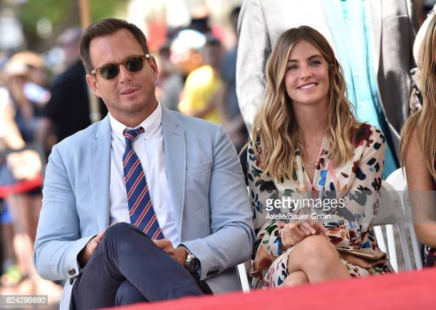 Actor Will Arnett and Elizabeth Law attend the ceremony honoring Jason Bateman with Star on the Hollywood Walk of Fame on July 26 2017 in Hollywood...